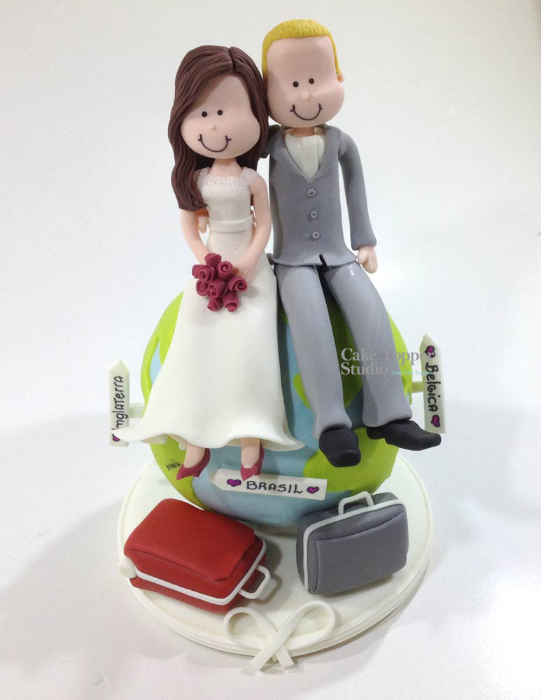 wedding-cake-topper-funny-globe-travel-romantic