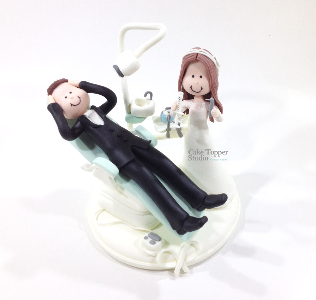 wedding-cake-topper-funny-dentist