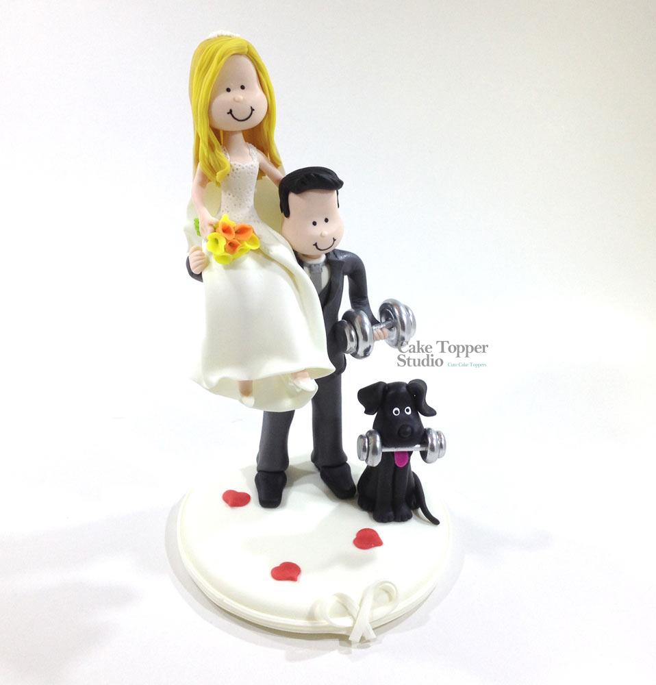 wedding-cake-topper-funny-gym-3