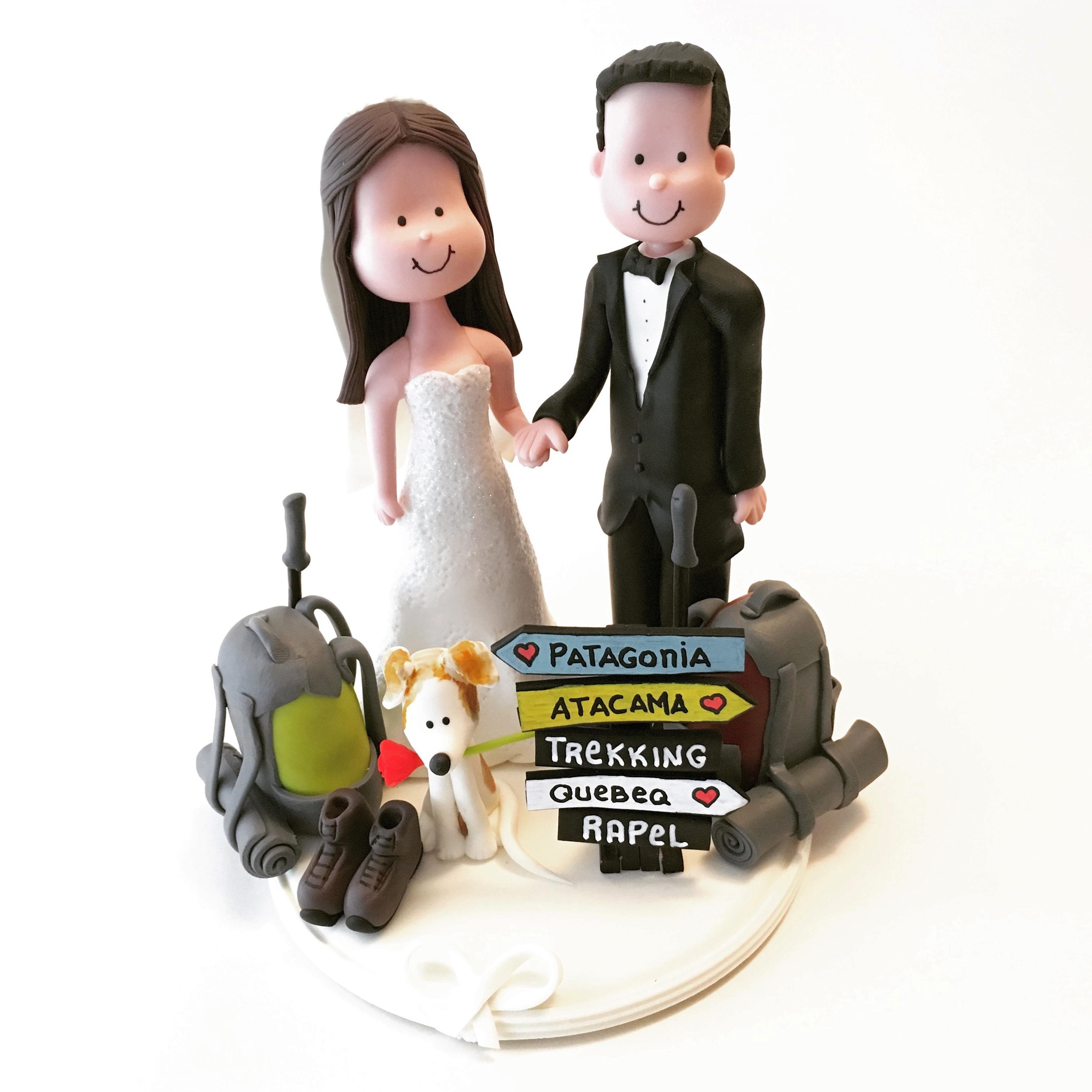 wedding-cake-topper-travel-trekking-3