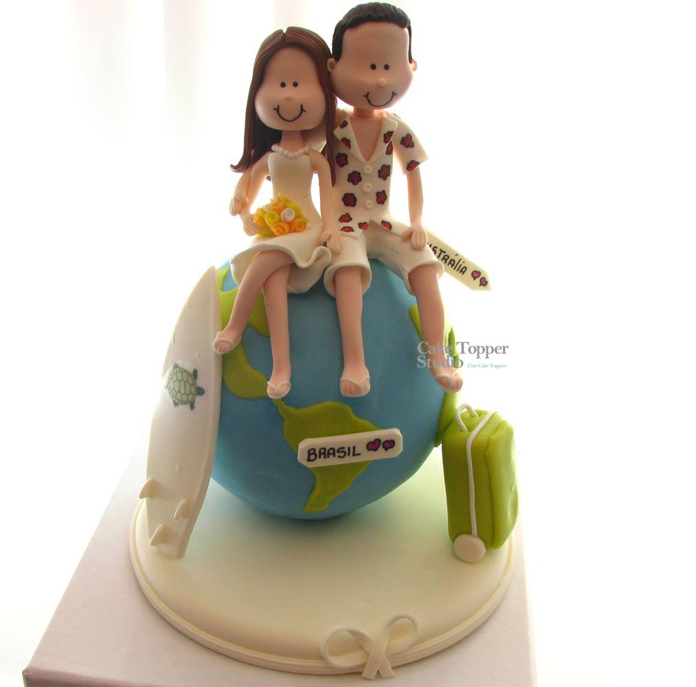 cake-wedding-topper-travel-globe