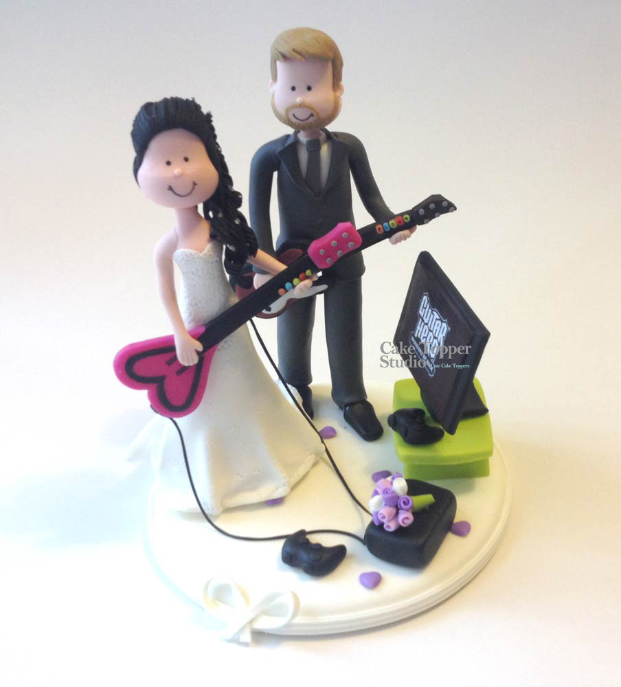 wedding-cake-topper-funny-guitar-hero