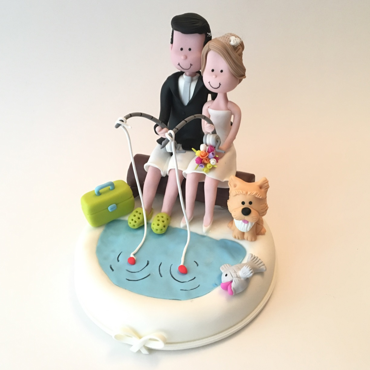 wedding-cake-topper-fishing