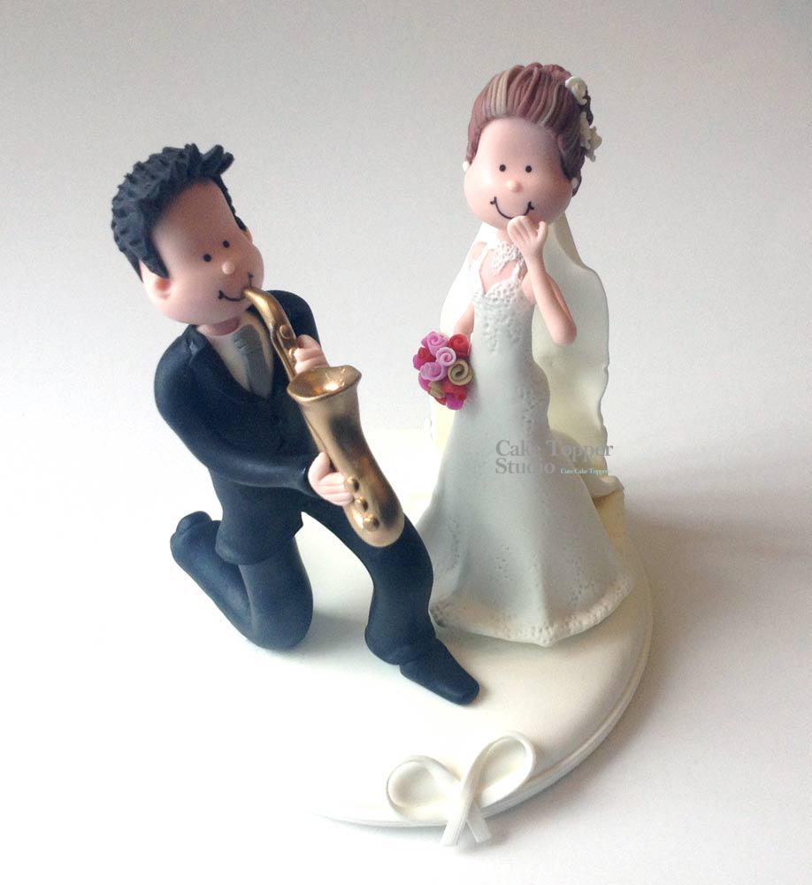 wedding-cake-topper-funny-sax