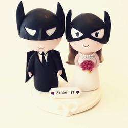 wedding cake topper batman 6