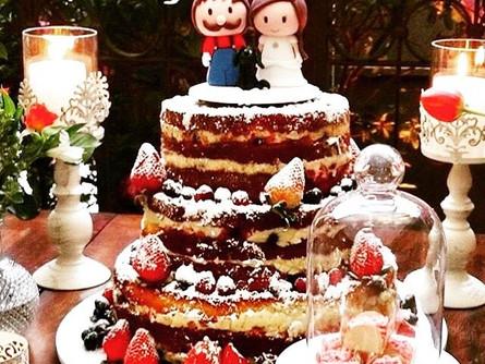 Cake Topper x Naked Cake