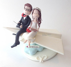 wedding-cake-topper-funny-airplane-paper