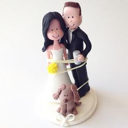 wedding_cake_topper_couple_dog.JPG