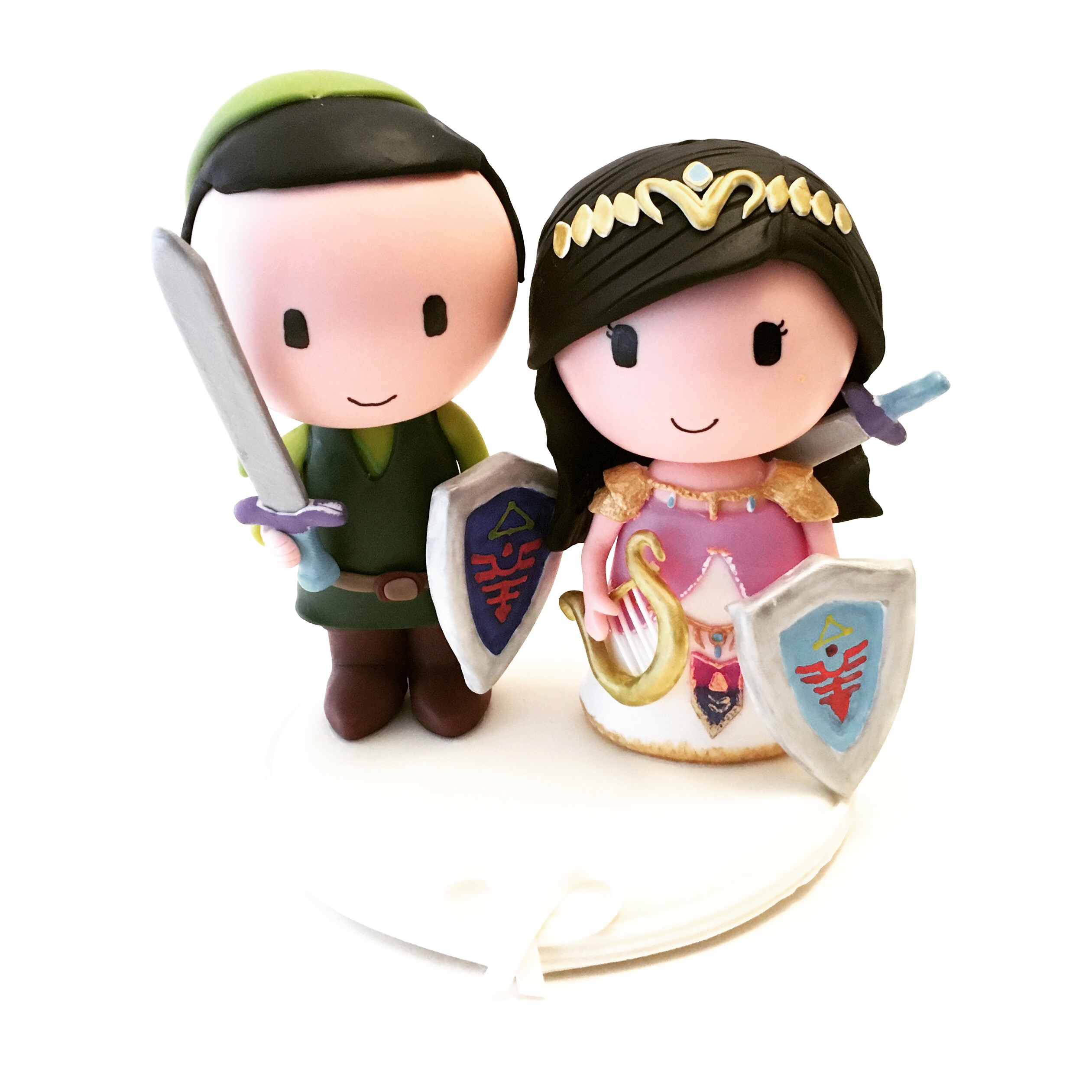 wedding cake topper zelda legend 3