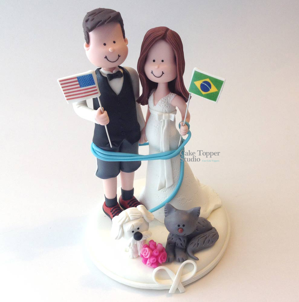 wedding-cake-topper-funny-flag-romantic
