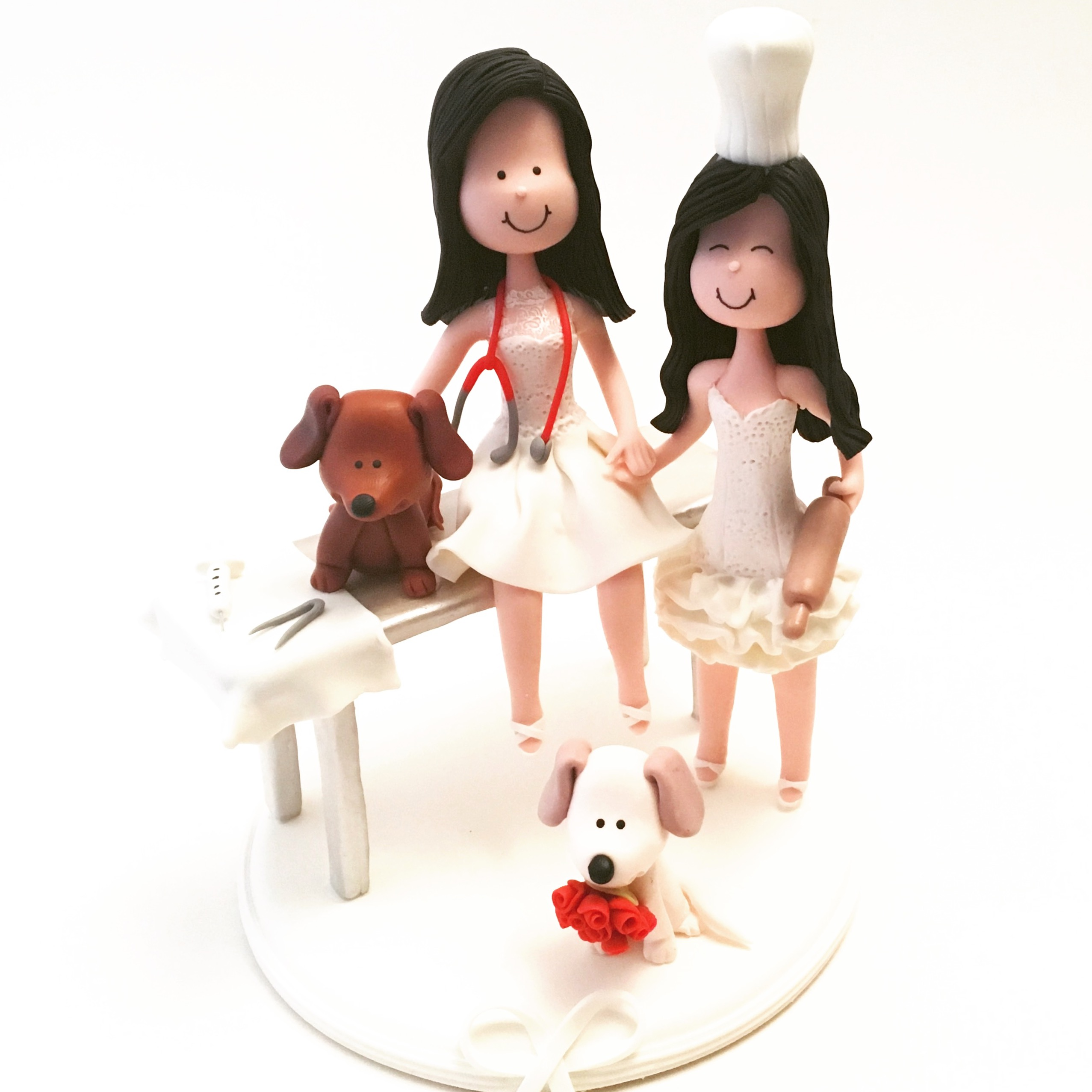 wedding-cake-topper-doctor-chef