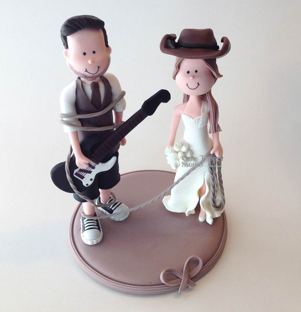 wedding-cake-topper-funny-cowgirl-cowboy-guitar