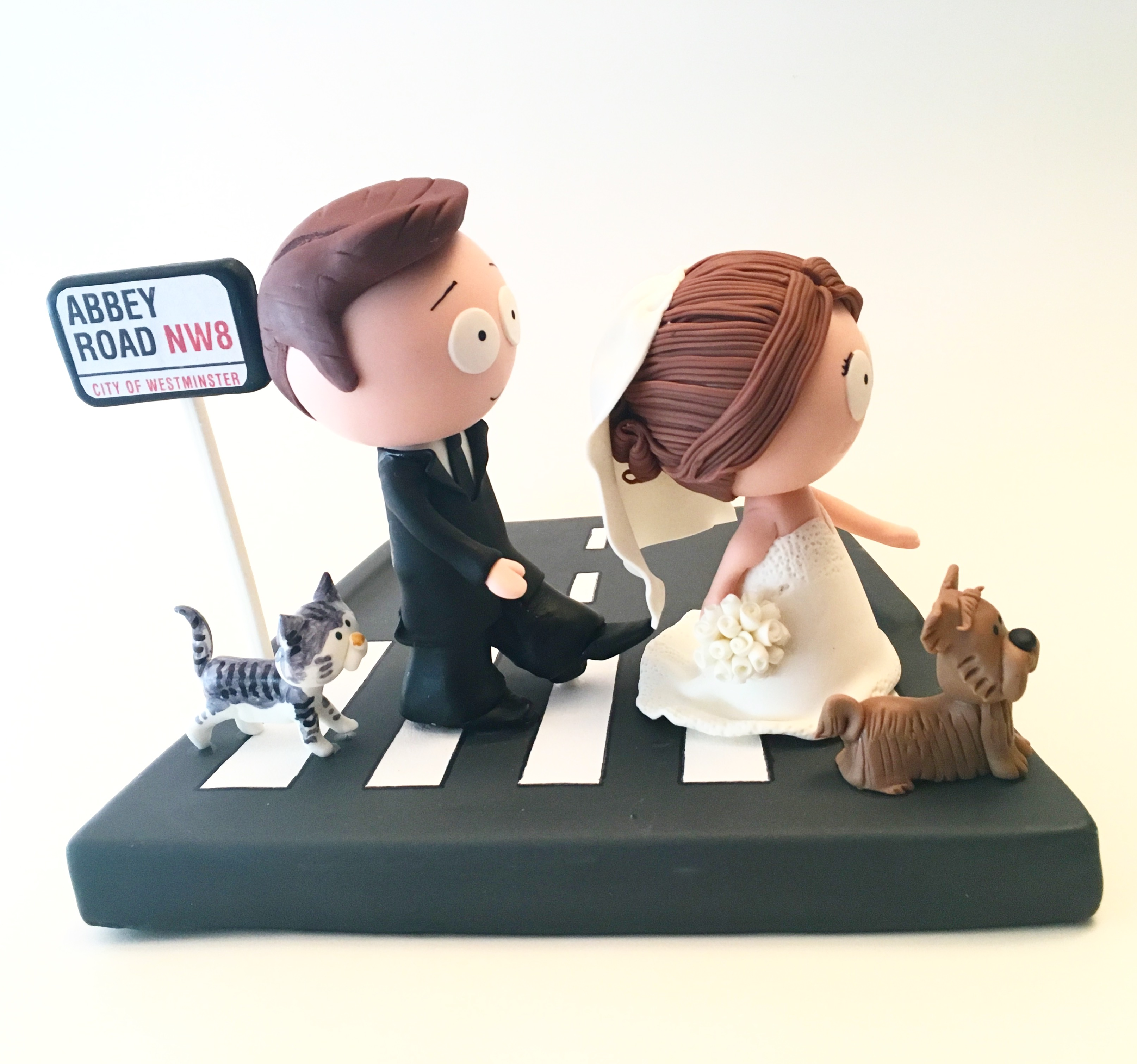 wedding cake topper southstyle abbey