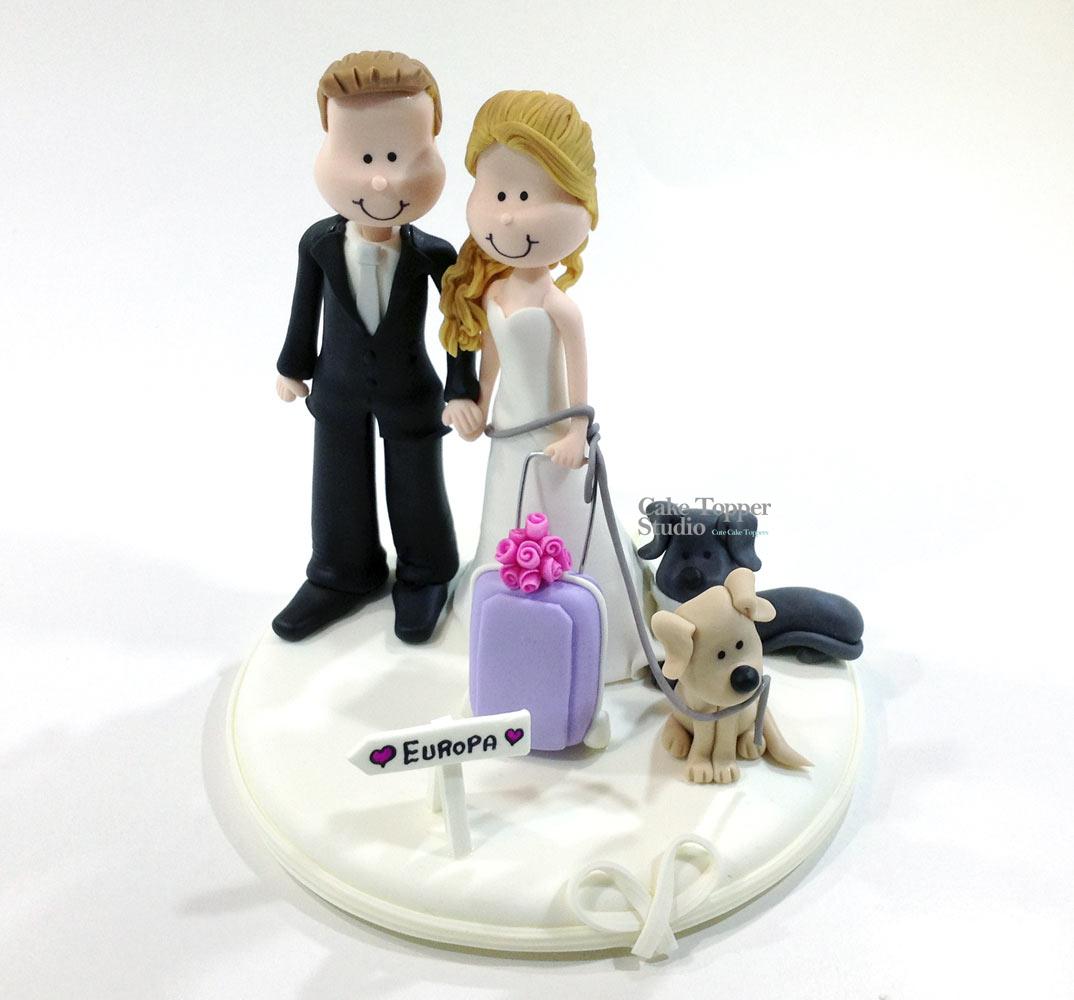 wedding-cake-topper-funny-traveling-4