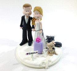 wedding-cake-topper-funny-traveling-4