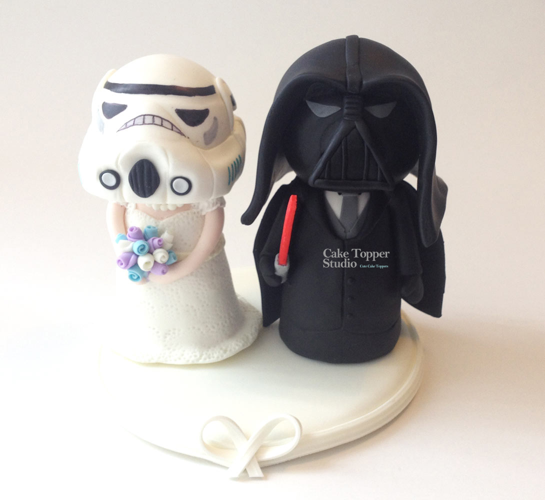 Cake Topper Studio Geek Custom Wedding Cake Topper