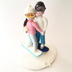 wedding_cake_topper_snowboard