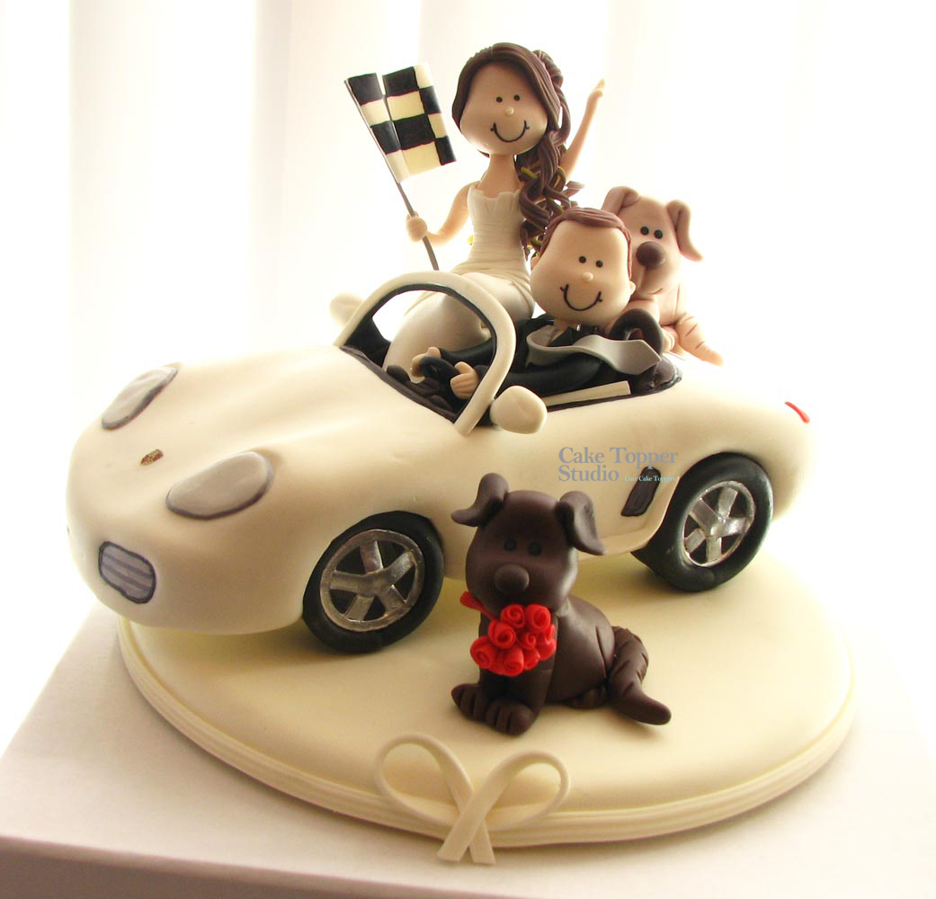 cake-topper-wedding-car-porsche-2