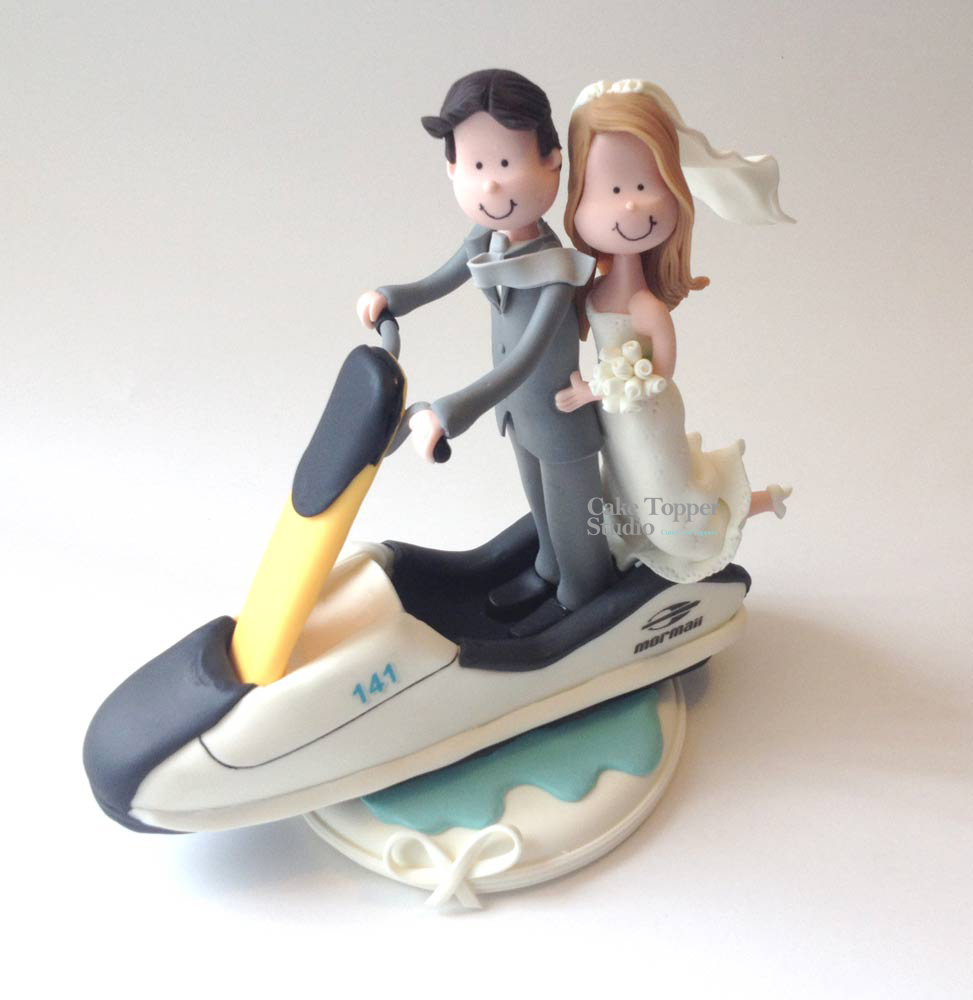 wedding-cake-topper-funny-jet-sky