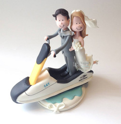 wedding-cake-topper-funny-jet-sky