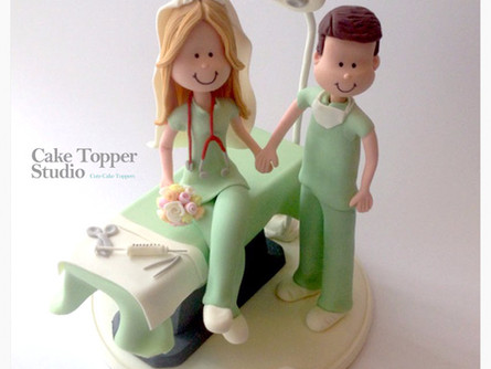 Cute Wedding Cake Topper !