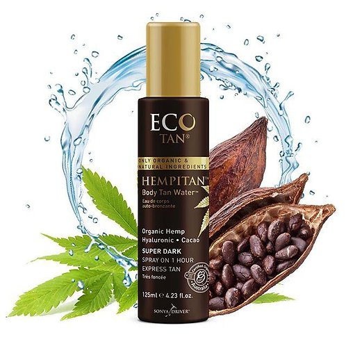Eco Tan HEMPITAN Organic Body Tanning Water