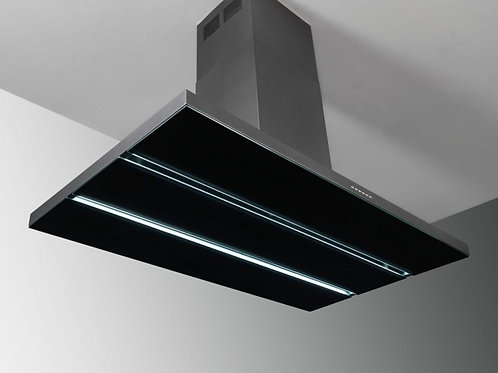 Verdi Island Hood Anthracite/Black Glass 1200 Wide
