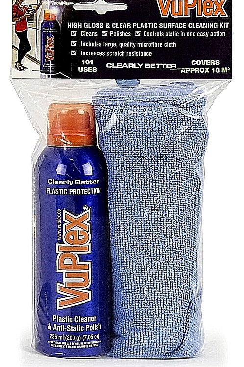 Vuplex Cleaner 200g / 235ml Kit