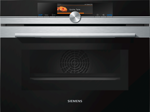 Siemens CM678G4S6B Combination Oven/Microwave