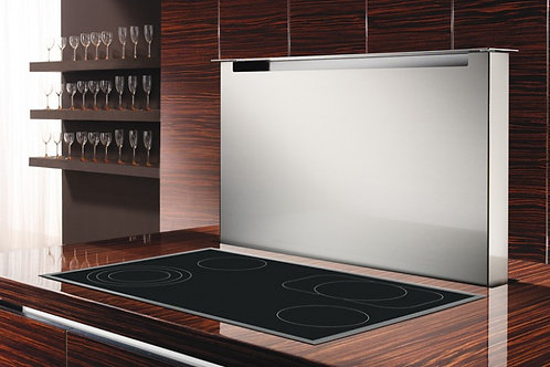 Parsifal Downdraft Extractor Black Glass 1200 Wide