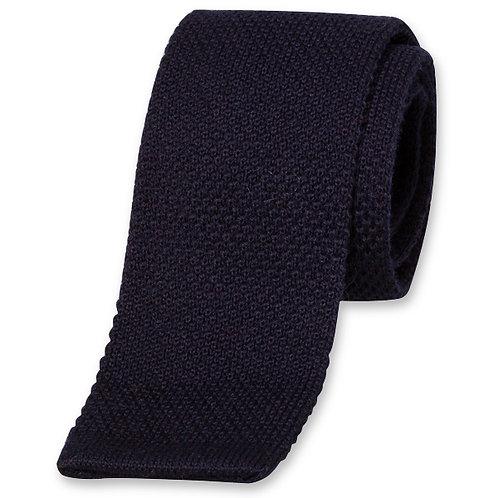 Cravate MAILLE marine
