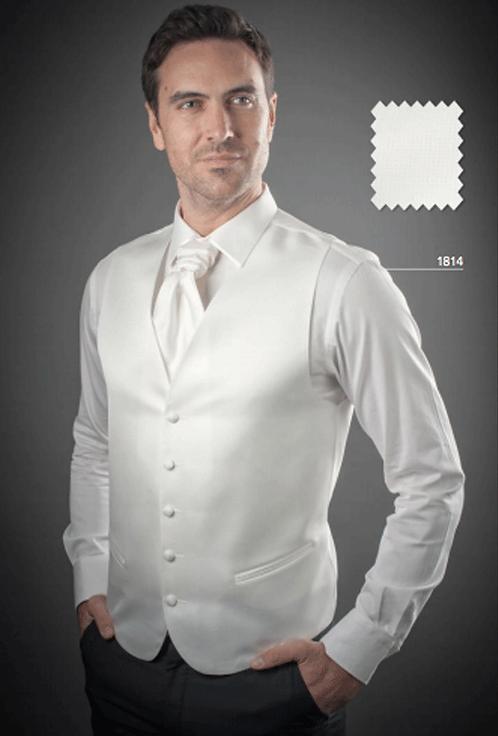 Gilet 1814 Blanc