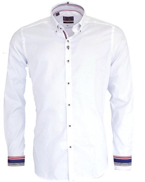 Chemise Steverline Fantaisie EDILLA blanc tricolor