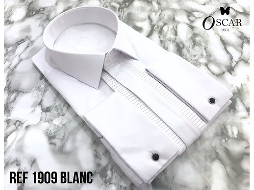 Chemise Oscar 1909 col ITALIEN blanc