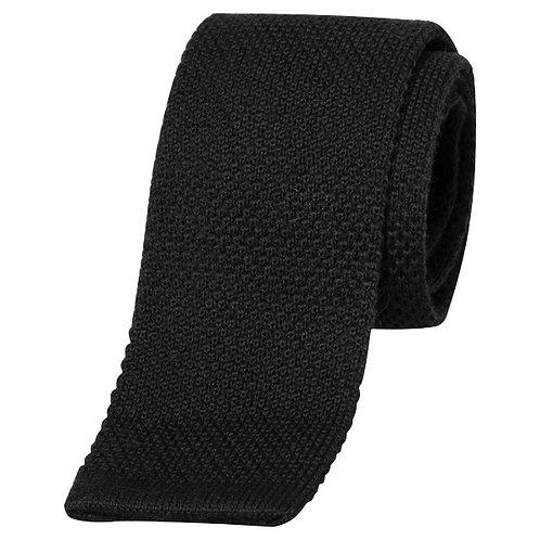 Cravate MAILLE noire