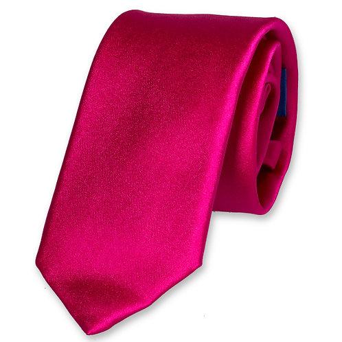 Cravate SLIM fushia