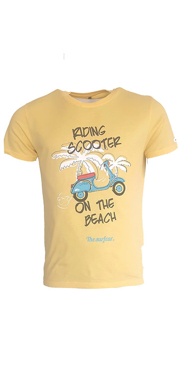 Tee-shirt Steverline 201313 RIDING jaune