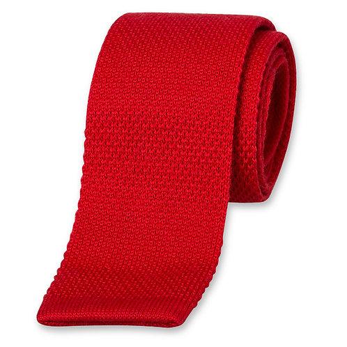 Cravate MAILLE rouge