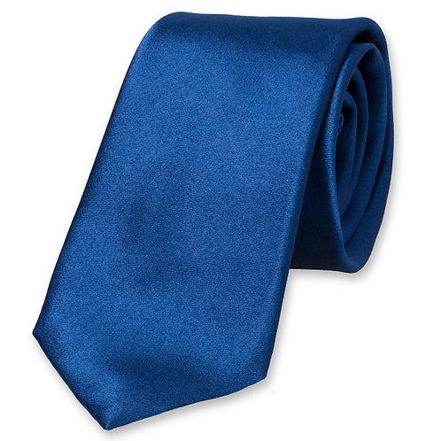 Cravate SLIM bleu roi