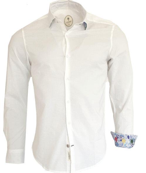 Chemise Ganesh G7000M BASIC blanc