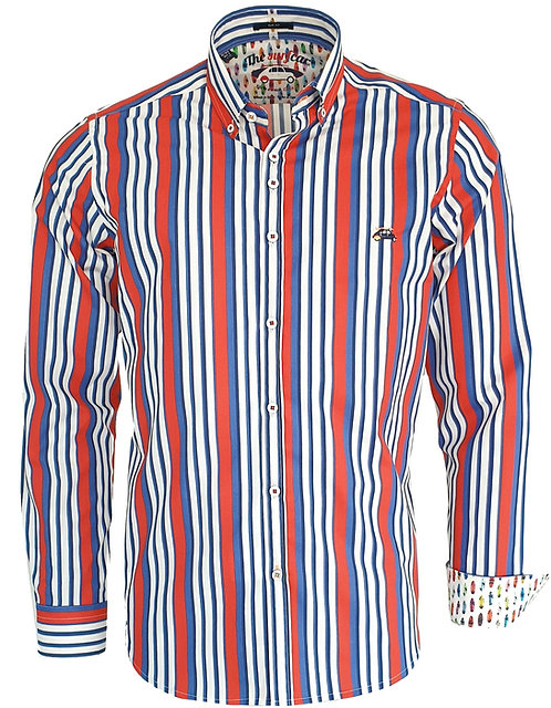 Chemise Steverline Fantaisie 201060 YACHTING tricolors