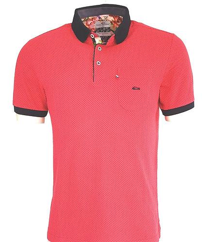Polo sport Steverline 2490 piqué rouge