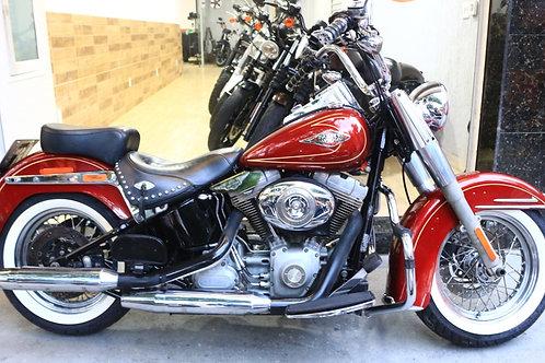 HD Harley Davidson Softail Heritage 2009 Vermelha