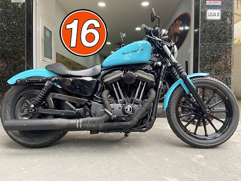 HD Harley Davidson Sportster 883 Iron 2010 Azul