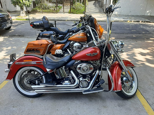 HD Harley Davidson Softail Deluxe 2013