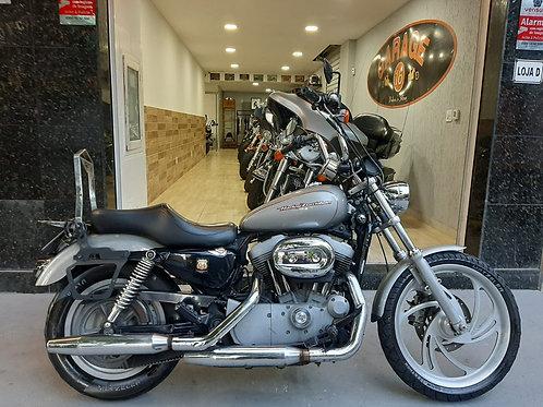 HD Harley Davidson Sportster 883 2007 Prata