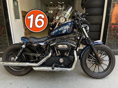 HD Harley Davidson Sportster 883 Iron Azul