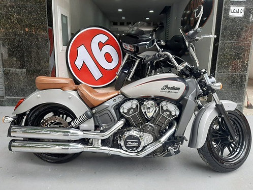 Indian Scout 1200 (2015) Cinza