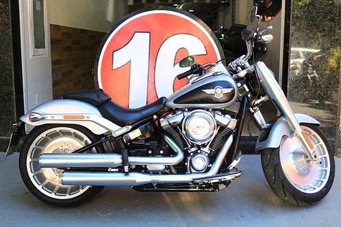 HD Harley Davidson Softail Fat Boy 2020 Prata