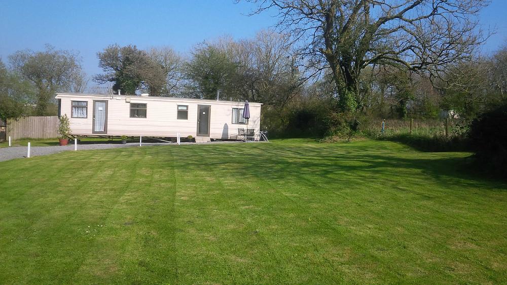 Static caravan Saundersfoot Pembrokeshire Wales